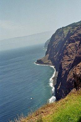Von Ponta do Pargo nach Osten
