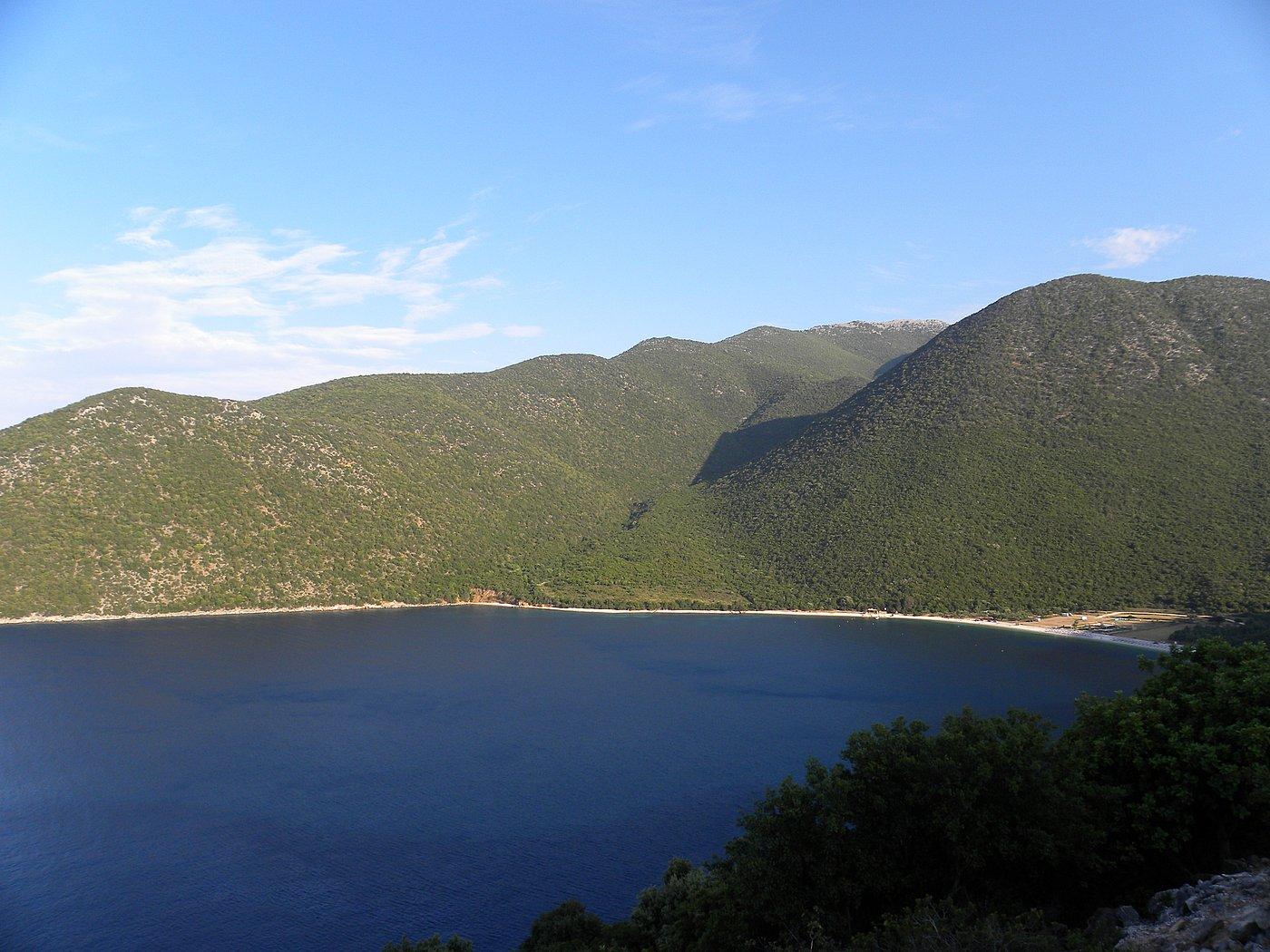 Die Bucht von Antisamos