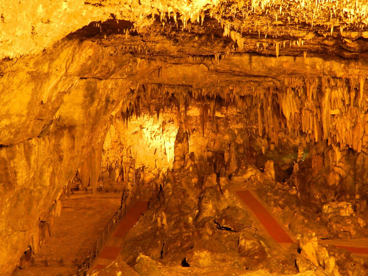 Die Drogarati Höhlen auf Kefalonia
