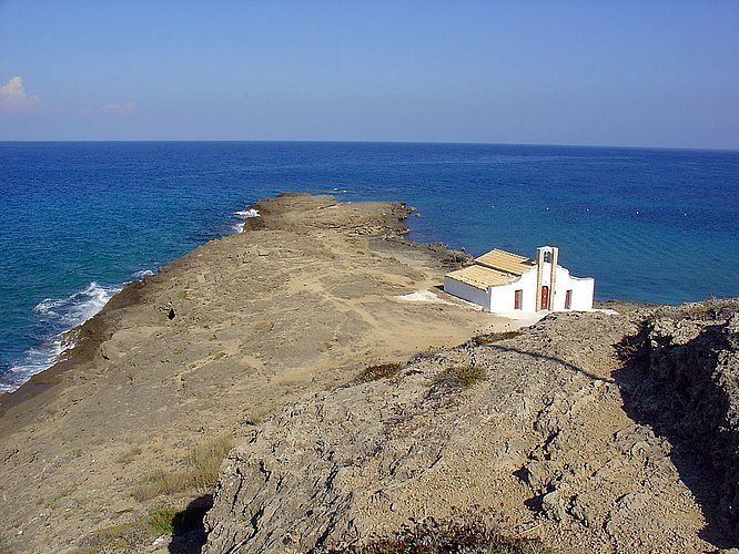 Der Strand von Agios Nikolaos auf Zakynthos (c by Webtraveller)