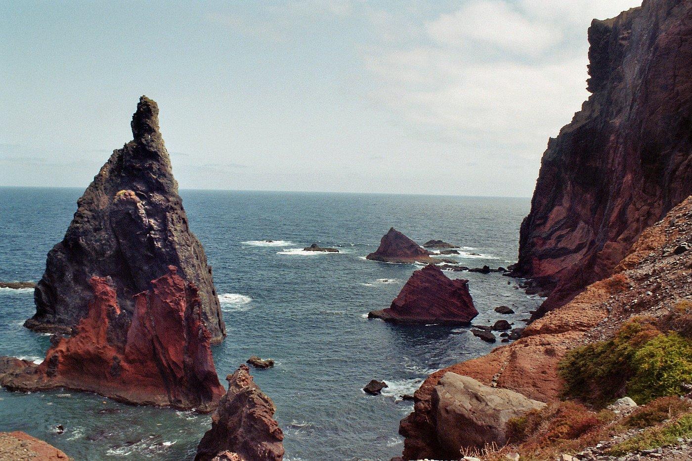 Blick von der Aussichtskanzel nach Norden